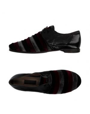 Обувь на шнурках PREVENTI. Цвет: черный