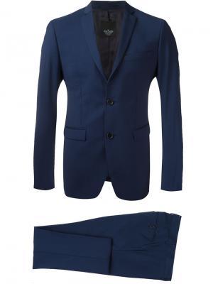 Классический костюм-двойка Suit. Цвет: синий