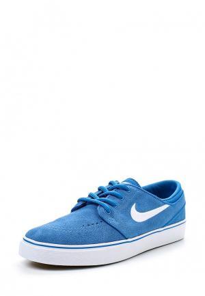 Кеды Nike. Цвет: голубой