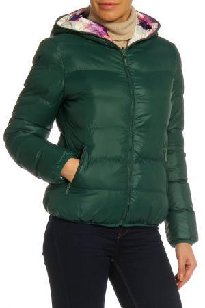 Куртка RISSKIO. Цвет: темно-зеленый