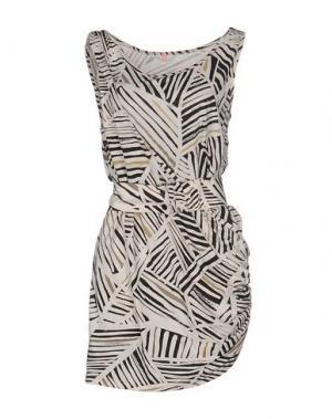 Короткое платье SASS & BIDE. Цвет: бежевый