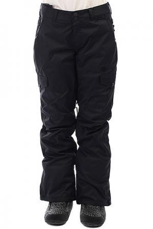 Штаны сноубордические женские DC Ace Black Shoes. Цвет: черный