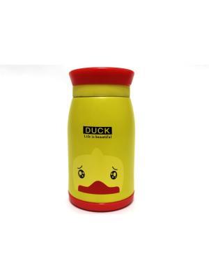 Термос Eleon. Цвет: красный, желтый