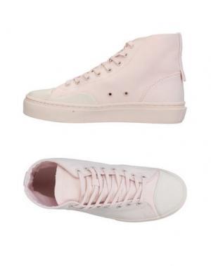 Высокие кеды и кроссовки CLEAR WEATHER. Цвет: светло-розовый