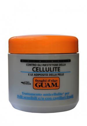 Маска антицеллюлитная для чувствительной кожи с хрупкими капиллярами Guam. Цвет: серый