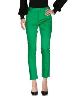 Повседневные брюки MEAM BY RICARDO PRETO. Цвет: зеленый