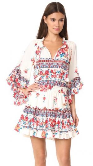 Платье Ximena MISA. Цвет: fl1