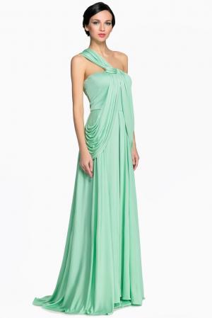 Платье из шелка 141433 Lolita Shonidi. Цвет: зеленый