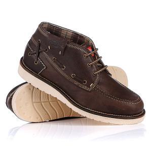 Ботинки  Nailhead Moc Marron Dickies. Цвет: коричневый
