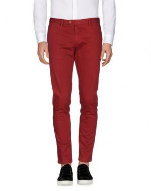 Повседневные брюки MAESTRAMI. Цвет: кирпично-красный