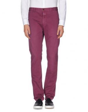 Повседневные брюки CLOSED. Цвет: розовато-лиловый