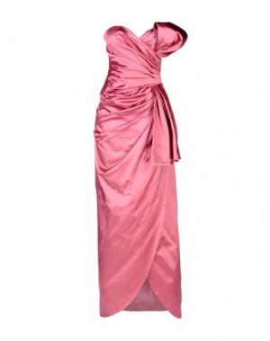 Длинное платье MOSCHINO COUTURE. Цвет: пурпурный