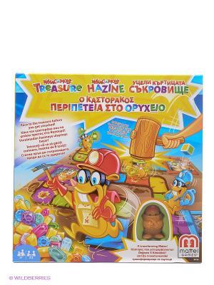 Игра настольная Гонка за сокровищами MATTEL GAMES. Цвет: коричневый