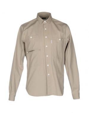 Pубашка MARIO MATTEO. Цвет: светло-серый