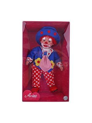 Кукла Arias Клоун Elegance 50 см Arias.. Цвет: синий