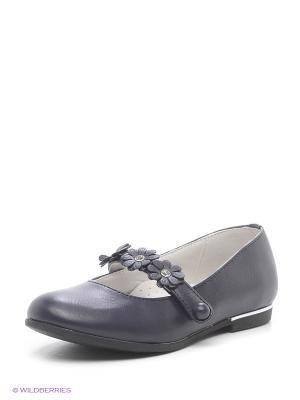 Туфли Болеро. Цвет: темно-синий