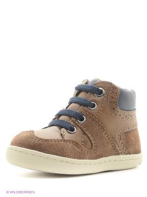 Ботинки Mayoral. Цвет: коричневый