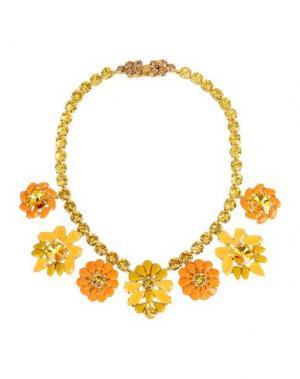 Ожерелье LISA C BIJOUX. Цвет: оранжевый