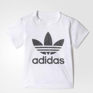 Футболка спортивная I TRF  Originals adidas. Цвет: черный