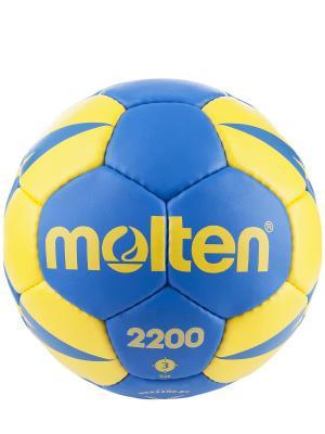 Мяч Molten. Цвет: синий