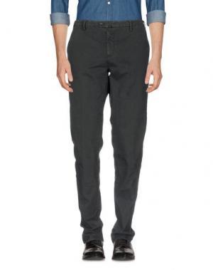 Повседневные брюки NEW ENGLAND. Цвет: стальной серый