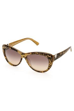 Очки солнцезащитные Valentino. Цвет: желтый