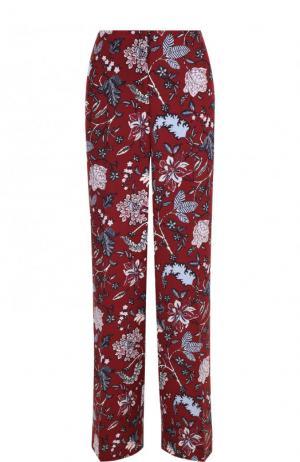 Расклешенные брюки с цветочным принтом Diane Von Furstenberg. Цвет: разноцветный