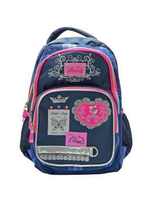 Рюкзак ACTION!. Цвет: синий, розовый