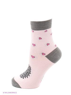 Носки Mark Formelle. Цвет: розовый