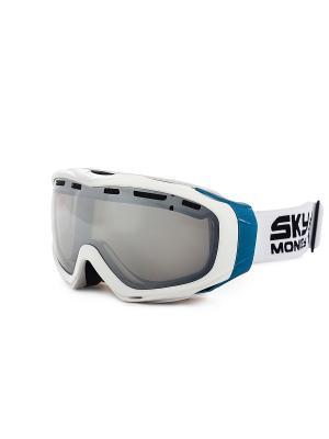 Очки горнолыжные Sky Monkey SR25 TRM. Цвет: белый, синий, черный