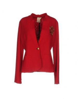 Пиджак KARTIKA. Цвет: красный