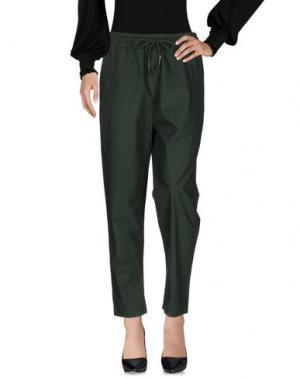 Повседневные брюки C.Y.H. CLAP YOUR HAND. Цвет: темно-зеленый