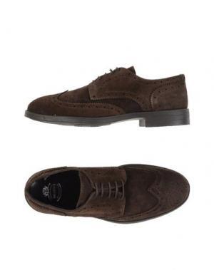Обувь на шнурках BRAWN'S. Цвет: темно-коричневый
