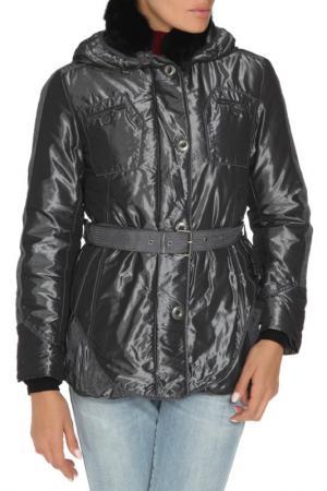 Куртка Diego M. Цвет: темно-серый, серебряный