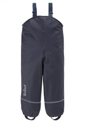 Защитные брюки на подкладке, SCOUT. Цвет: синий морской
