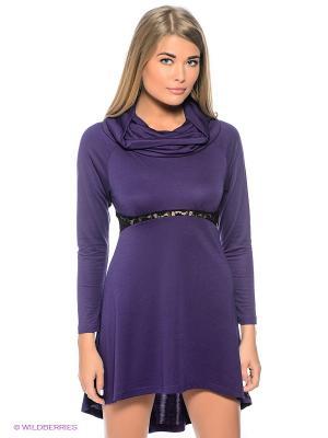Платье Sport Vision. Цвет: фиолетовый, черный