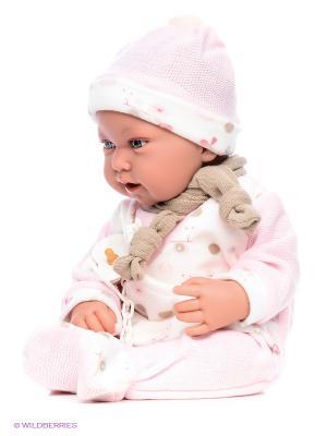 Кукла Камилло интерактивная Antonio Juan. Цвет: бледно-розовый