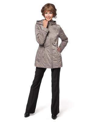 Куртка DizzyWay. Цвет: серо-коричневый