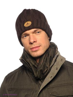 Шапка Viking caps&gloves. Цвет: темно-коричневый