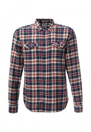Рубашка Wrangler. Цвет: разноцветный