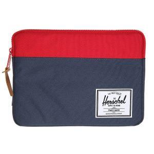 Чехол для iPad  Anchor Sleeve For Air Navy/Red Herschel. Цвет: синий,красный