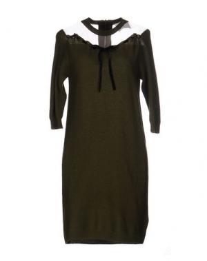 Короткое платье PRINCESSE METROPOLITAINE. Цвет: зеленый-милитари