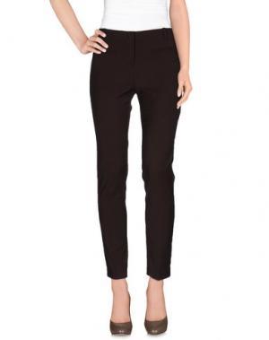 Повседневные брюки LAURA LINDOR. Цвет: какао