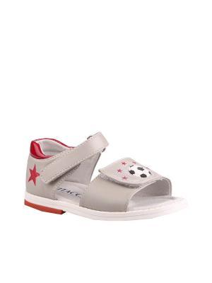 Туфли Vitacci. Цвет: серый