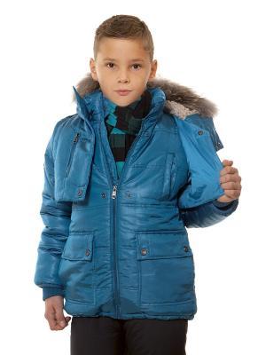 Куртка VELFI. Цвет: бирюзовый