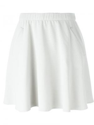 Вельветовая юбка Harris Wharf London. Цвет: телесный