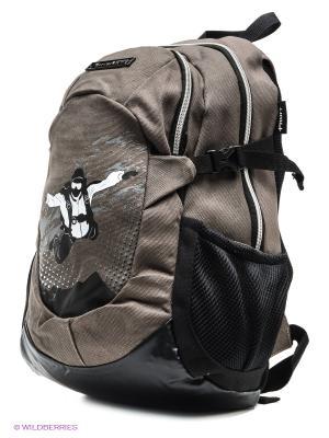 Рюкзак PROFF. Цвет: серо-коричневый