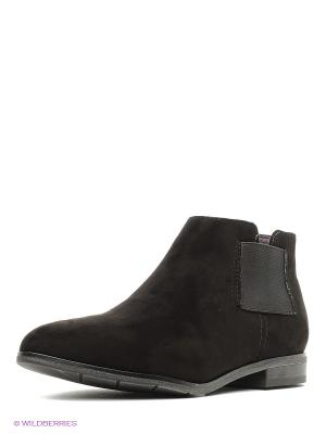 Ботинки Marco Tozzi. Цвет: черный