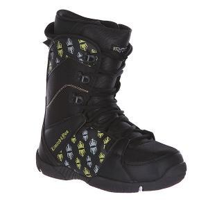 Ботинки для сноуборда  Thirteen True Black Limited4You. Цвет: черный