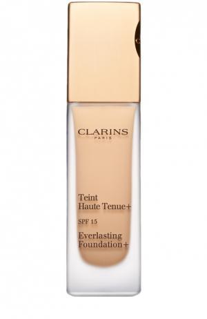 Устойчивый тональный крем Teint Haute Tenue, оттенок 105 Clarins. Цвет: бесцветный